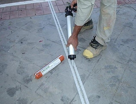 China pu polyurethane sealant for construction expansion - Joint carrelage silicone ...