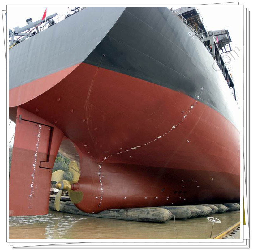 Marine Rubber Airbag Used for Ship Landing and Launching