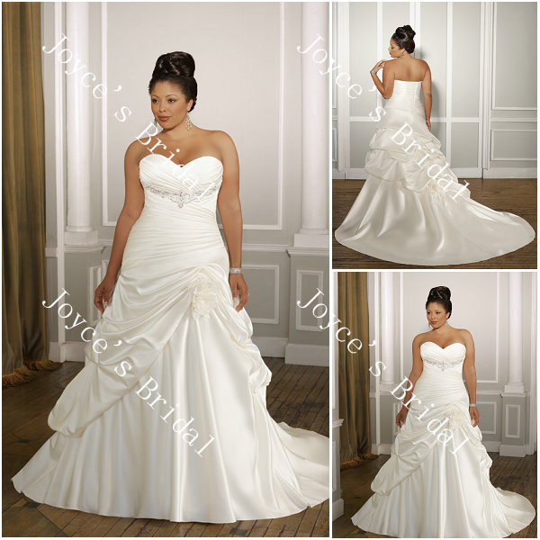 Sexy Plus Size Wedding Dresses 24
