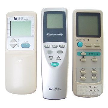 modern air conditioning remote controls