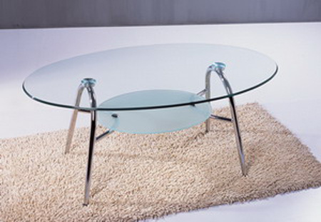 Glass Coffee Table/Living Room Furniture/Modern Tea Table (P11