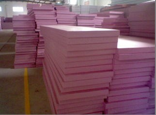 Extruded insulation extruded polystyrene for Pink insulation r value