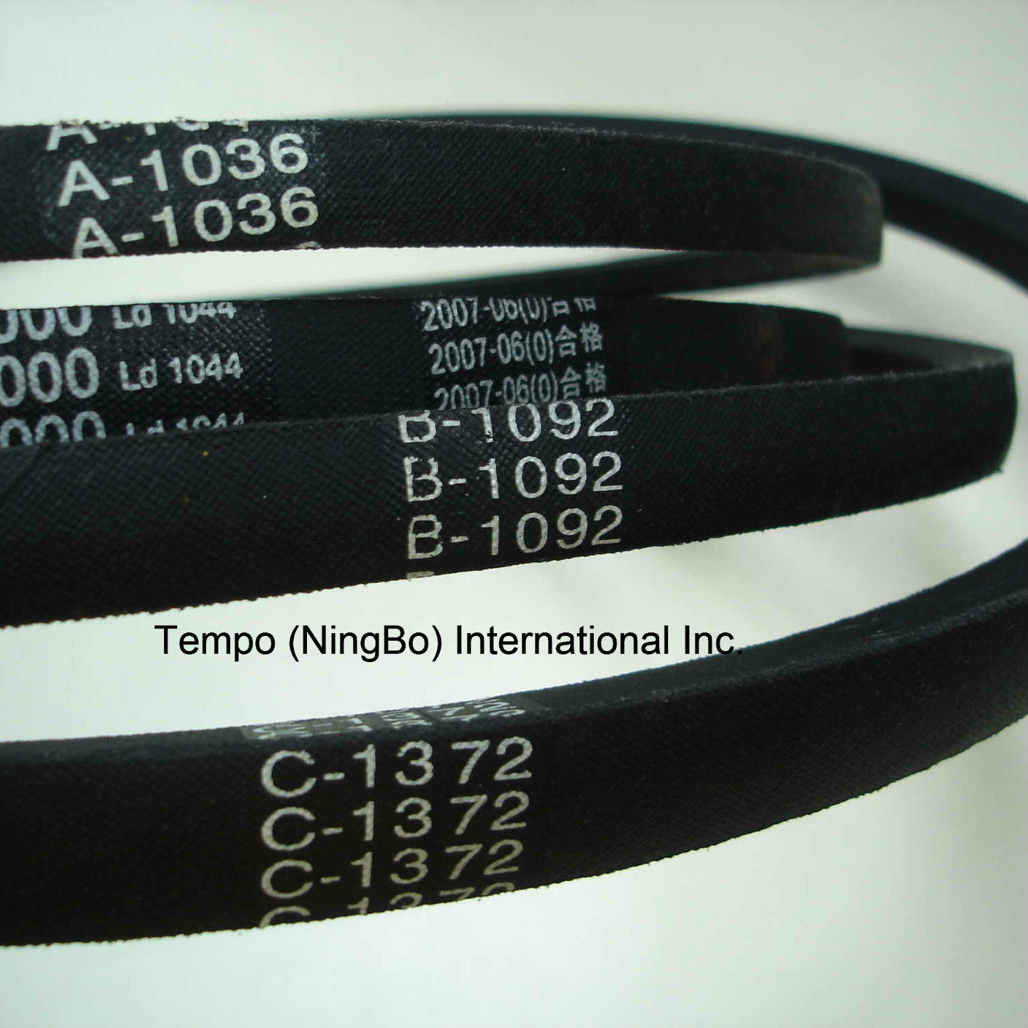 V-Belt with SGS Certified (Z, A, B)