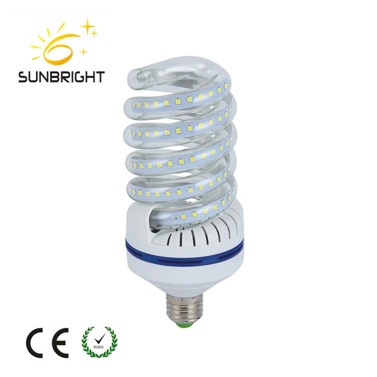 Good Quality 5-40W E27e14 Full Spiral LED Bulbs