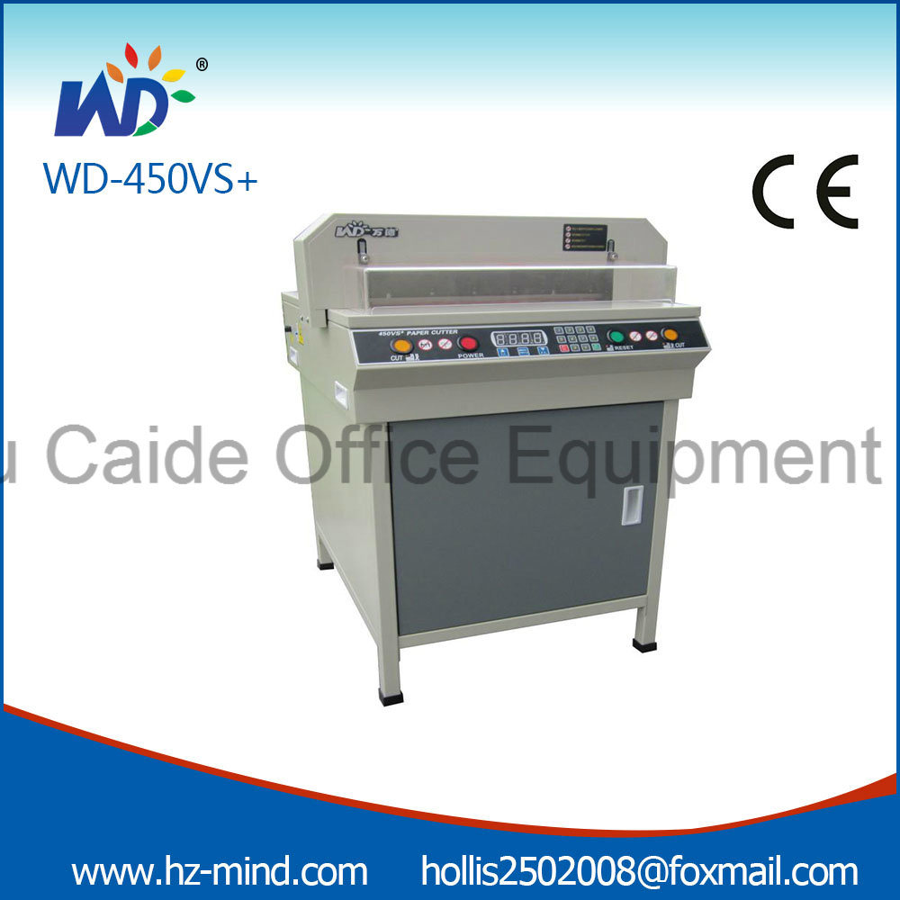 Professional Manufacturer (WD-450VS+) Numerical-Control 450mm Paper Cutter