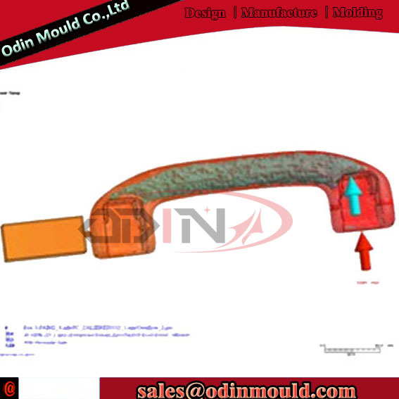 Car Handle Gas Assisted Injection Molding