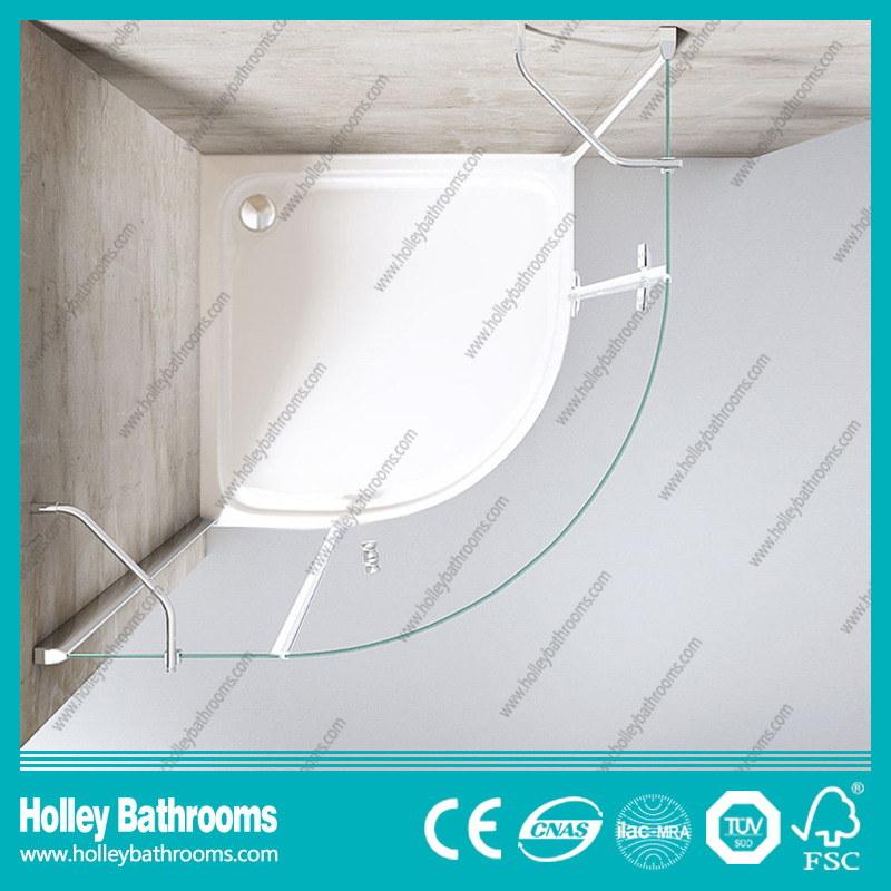 Hinger Door Circular Single Door Selling Simple Shower Enclosure (SE711C)