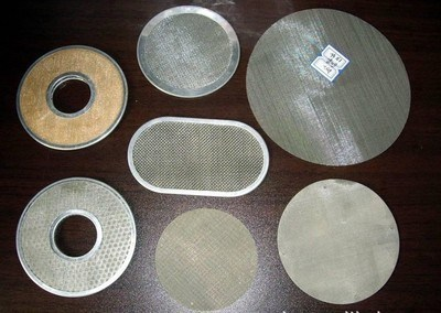 Stainless Steel Filter Disc Many Shapes Single Layer Multi Layer