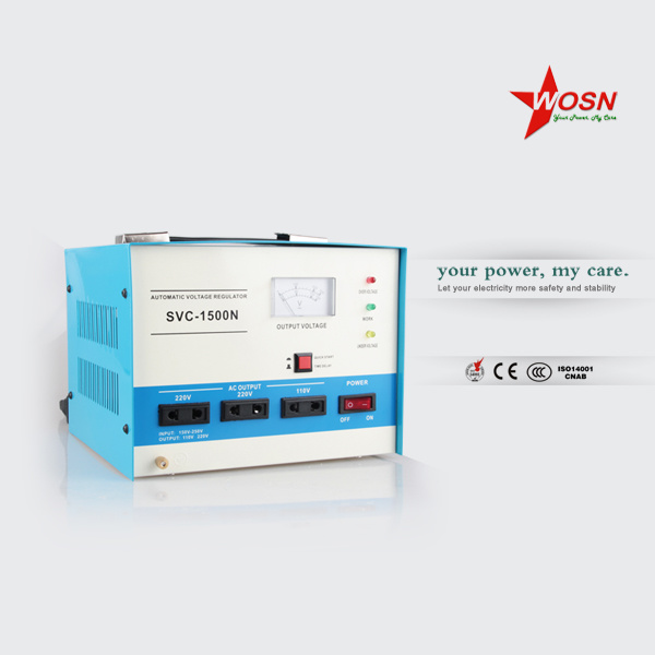 Best Quality: SVC-1500va 230V AC Home Voltage Regulator