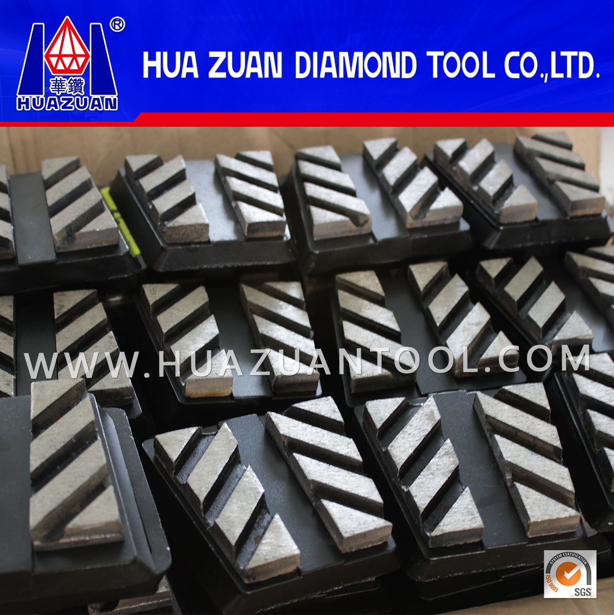 High Efficiency Diamond Frankfurt Abrasives Block for Marble