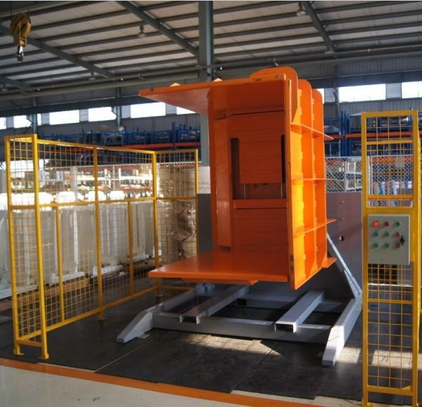Stationary Load Inverter Pallet Inverter Bulle Pallet: China Forklift Hydraulic Stationary Pallet Inverter Photos