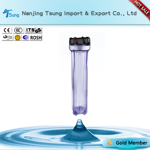 """20"""" Clear Filter Housing for Water Purification"""
