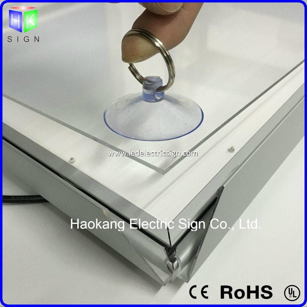 Aluminum Snap Frame Clip Frame Light Box with Light Sign for Advertising
