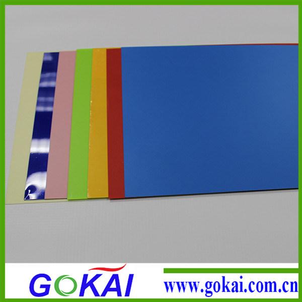Latin American Bluish PVC Rigid Sheet