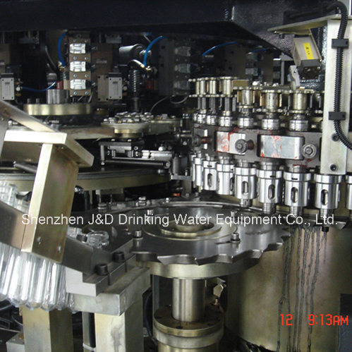 Automatic Pet Bottle Rotary Stretch Blow Moulding Machine