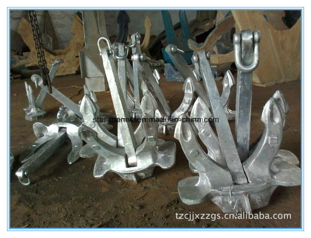 Hall Type a, B, C Cast Iron Ship Anchor