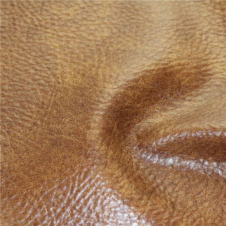 Retro Imitation Semi PU Leather for Sofa, Furniture (778#)