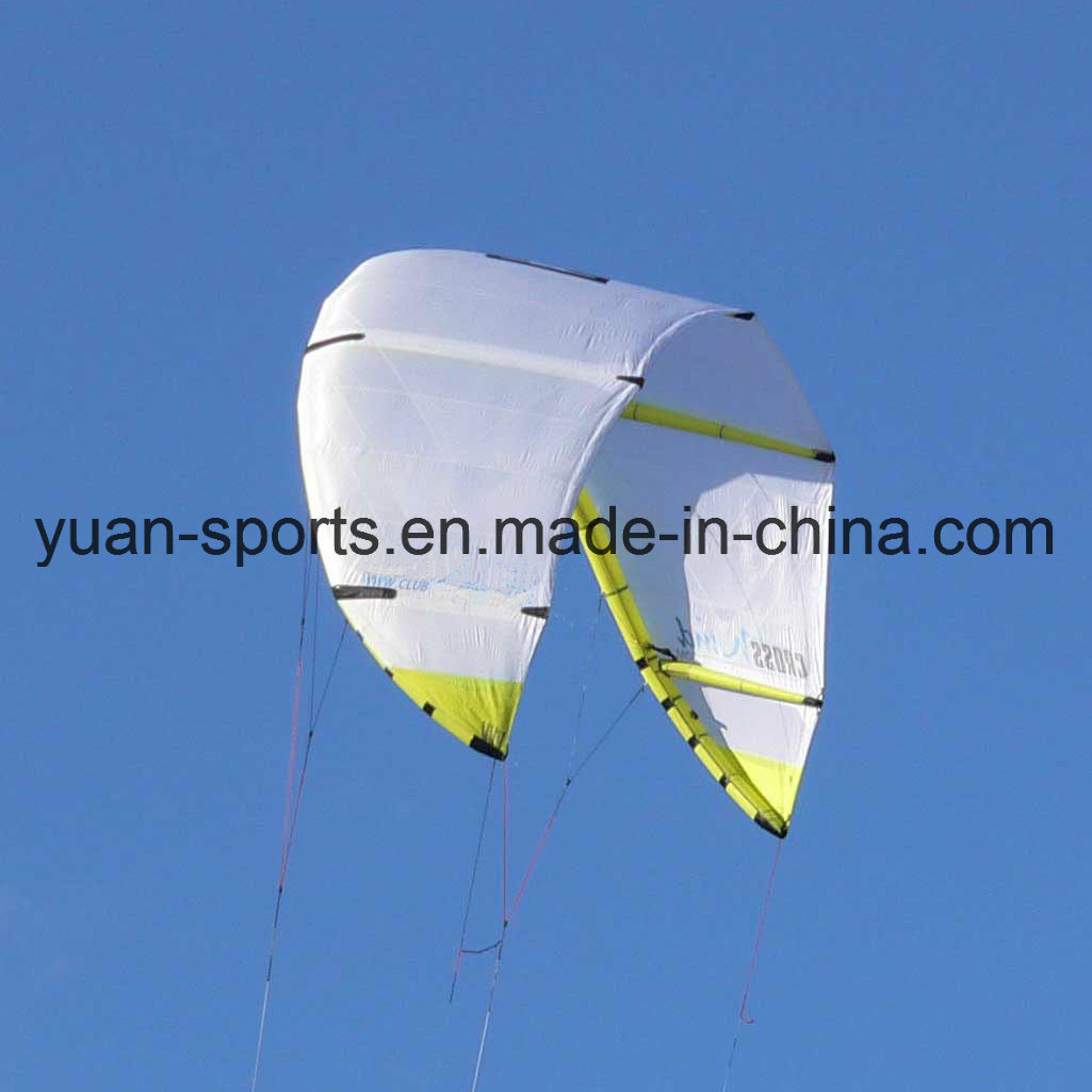 Whole Set Kite with Line and Control Bar for Kite Board Surfing