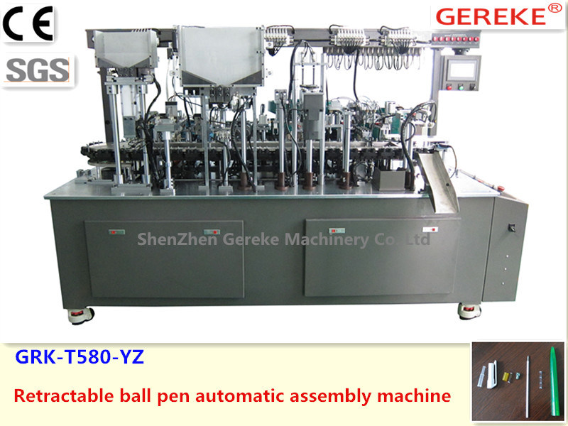 Retractable Ball Pen Automatic Assembly Machine