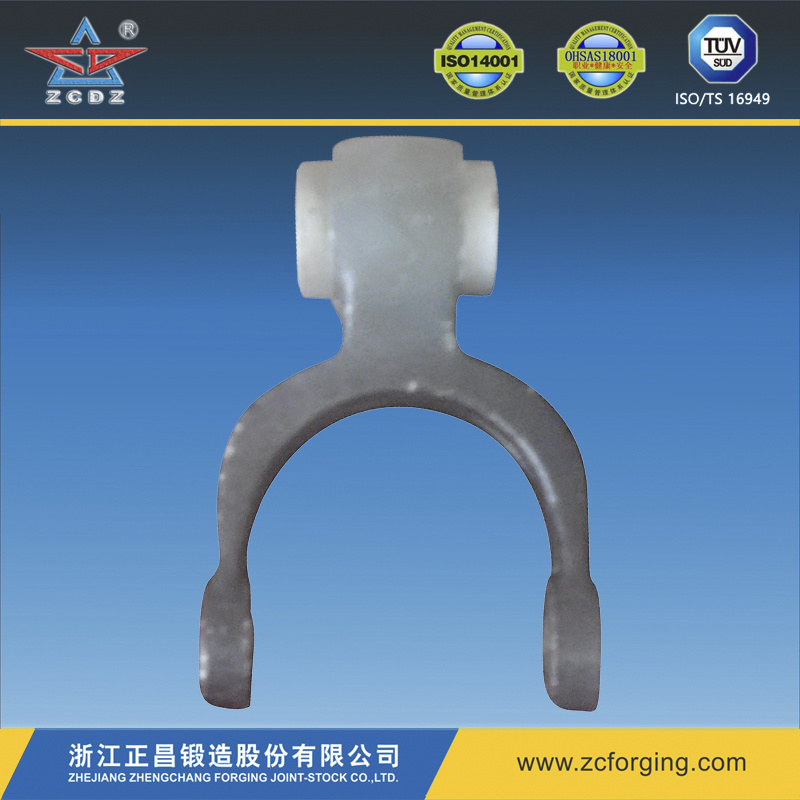 Zcf012 Carbon Steel Forging Shift Fork for Auto Parts
