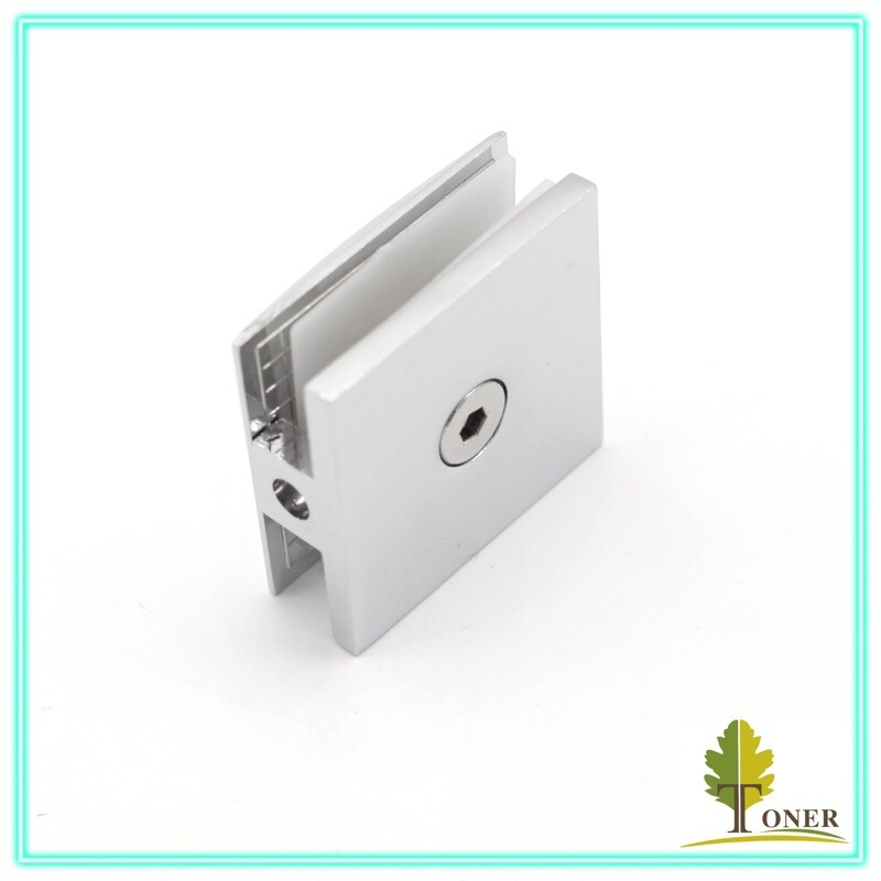 Zinc Clamp/ Square Cambered Surface 0 Degree Glass Clamp