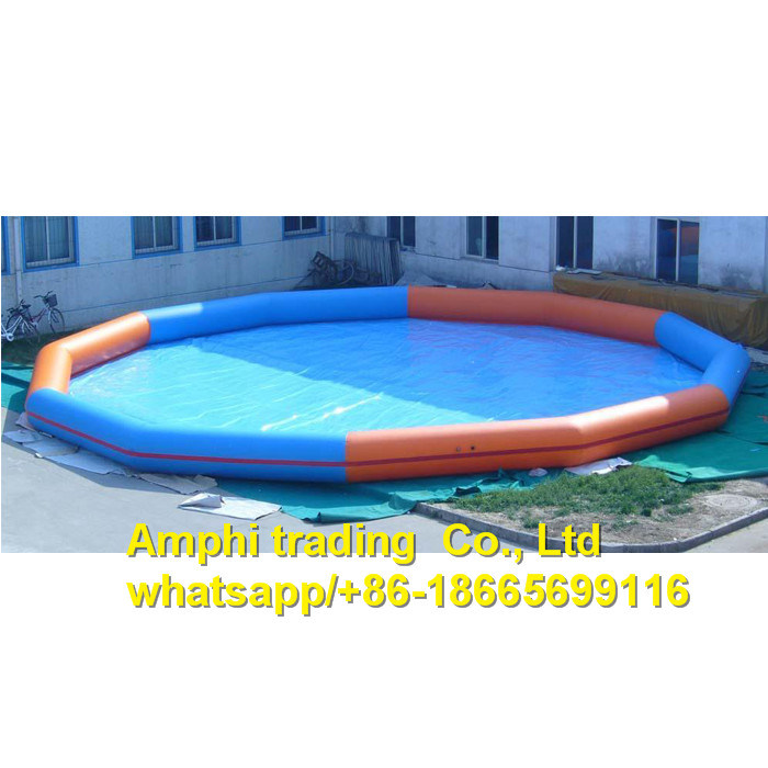 2017 Newly Design! Hot Selling PVC Inflatable Water Pool