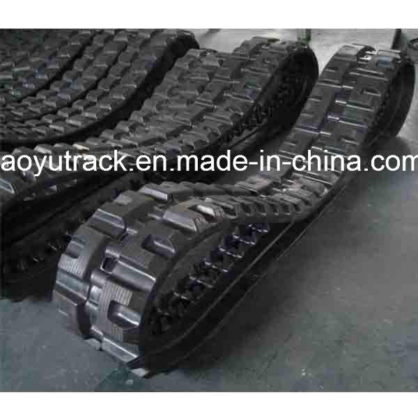 Excavator Rubber Track Size 300 X 55 X 70