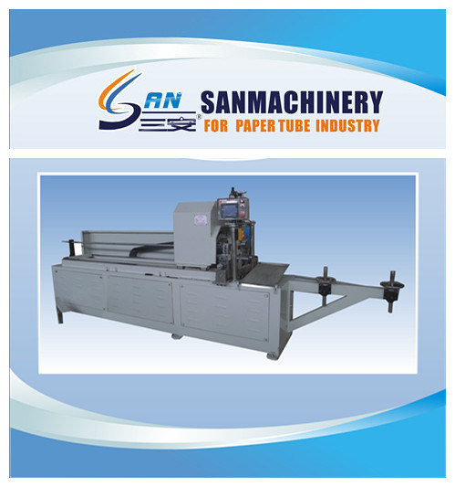 Automatic Paper Tube Re-Cutter with PLC Touching Panel