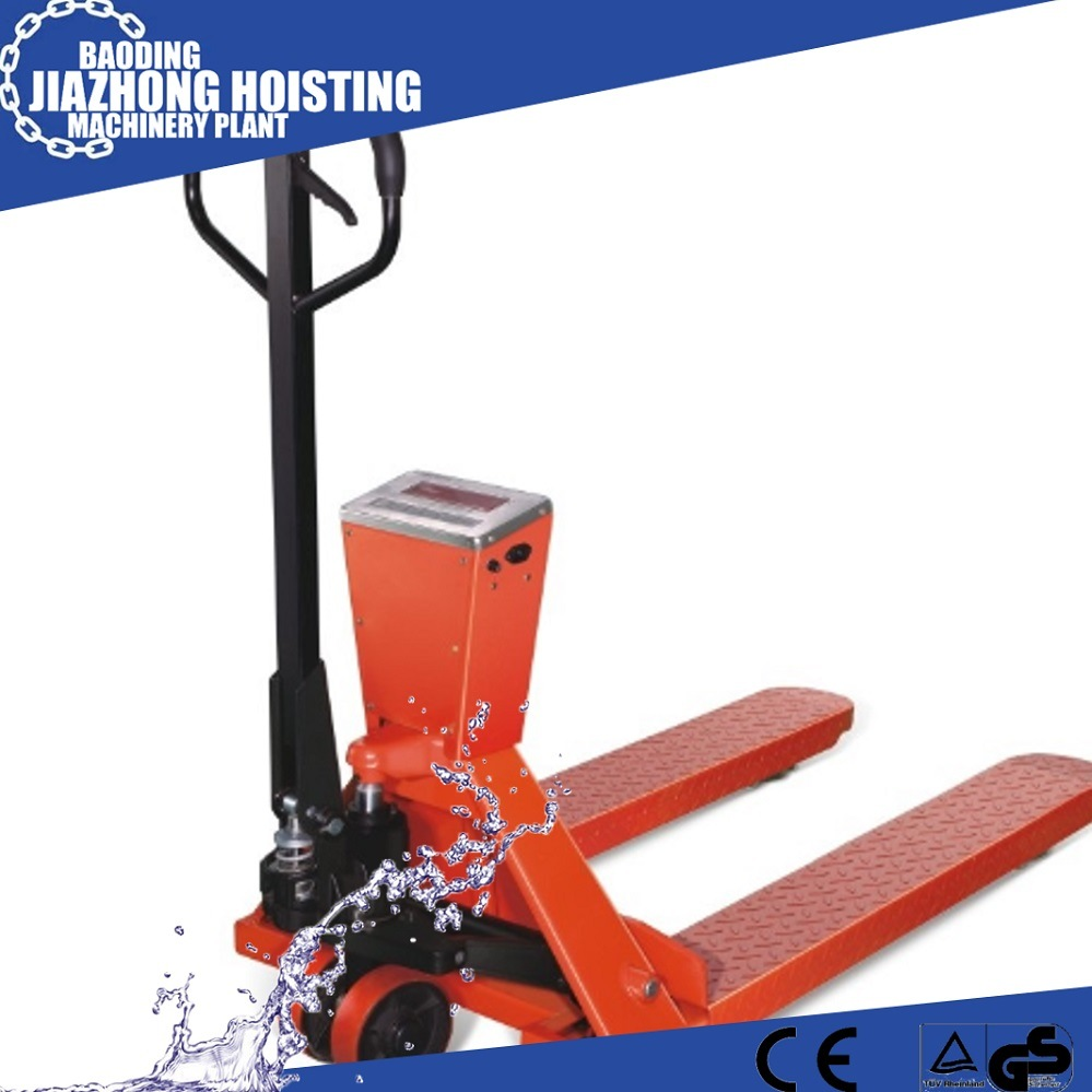 Hand Pallet Truck Manual Pallet Truck with Scale 1.5 Ton