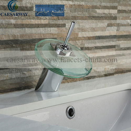 Cascada Grifos Con LED Modern Basin Faucet with Watermark Approved for Bathroom