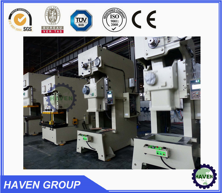 JH21 Series Open Back Power Press with Dry Clutch and Hyraulic Overload Protector