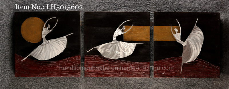 The Moonlight Ballet 3D Metal Wall Art with 100% Hand-Made