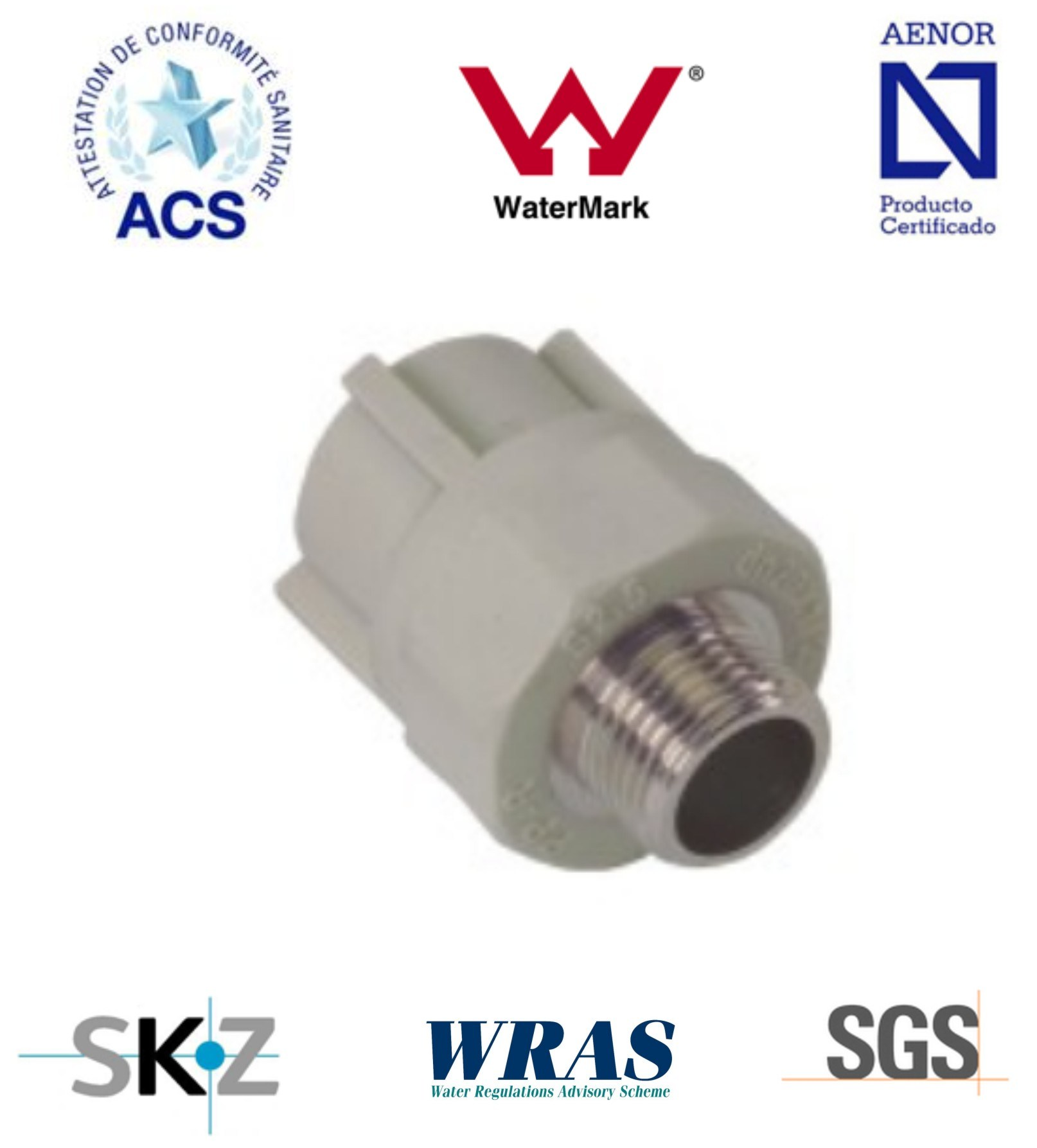 PPR Fitting - Pipe Fitting (Male Straight)