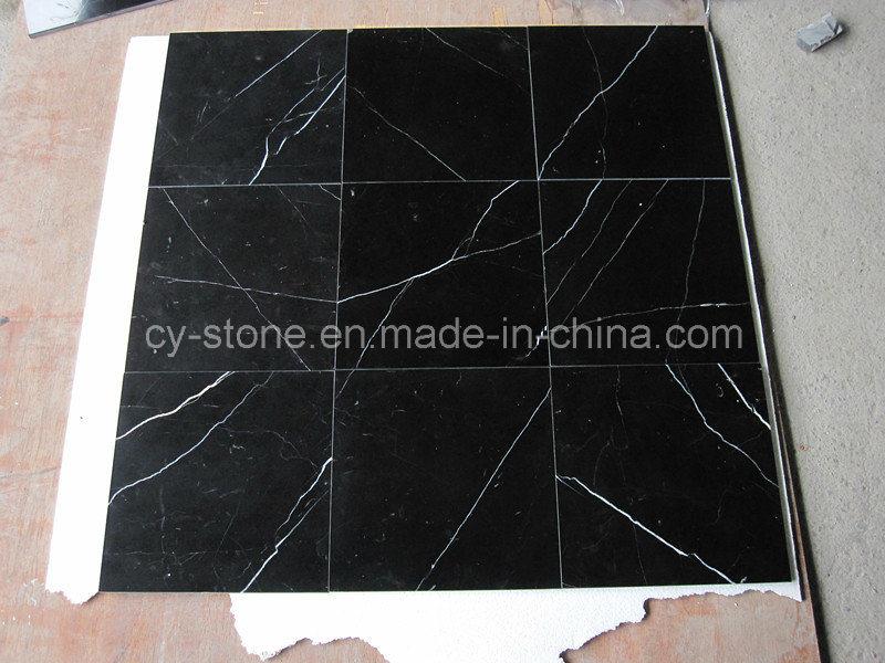 Nero Marquina Black Marble Granite