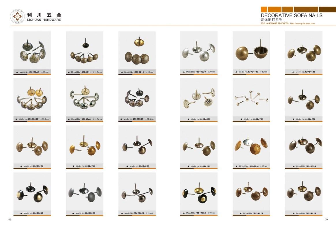 Decorative Nails,Decorative Upholstery Nail Heads,Decorative Upholstery Nails