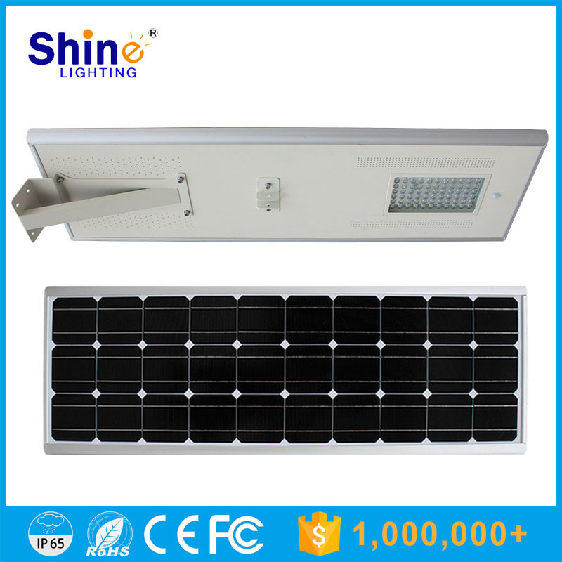 80W All in One Integrated Solar LED Street Light with 3 Years Ce &RoHS Certificate