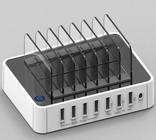 Multi 7 Port USB2.0 Hub USB Charger for Pad iPhone 6 7 Plus