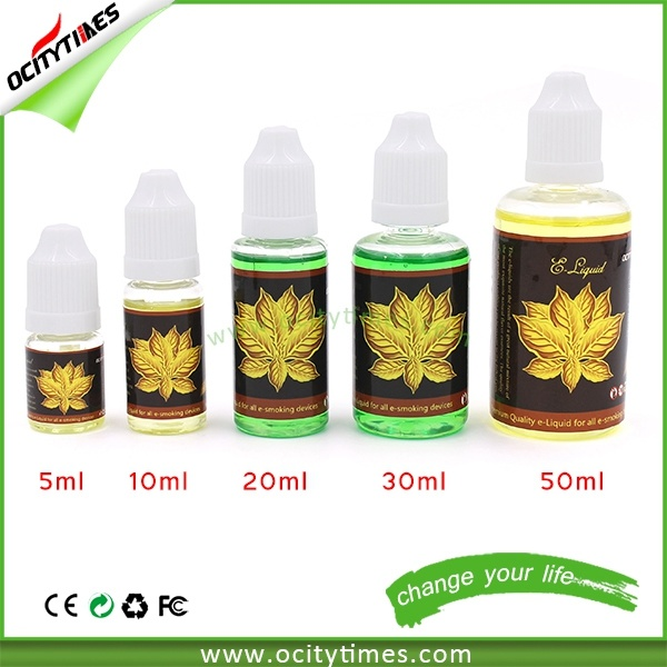 Custom Label 10ml/20ml/30ml/50ml Electronic Cigarette E Liquid
