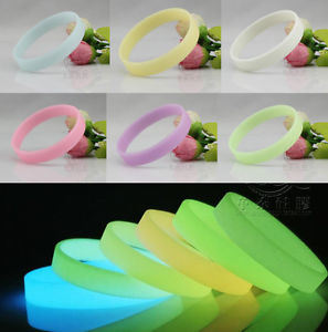 Custom Logo Printed Promotional Silicone Rubber Wristbands