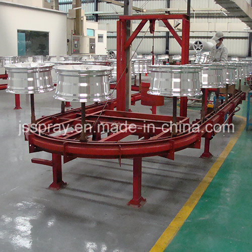 High Quality Powder Coating Line for Industrial Area