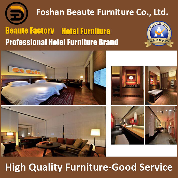 Hotel Furniture/Luxury Double Hotel Bedroom Furniture/Standard Hotel Double Bedroom Suite/Double Hospitality Guest Room Furniture (GLB-0109812)