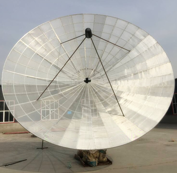 5m/15feet Aluminum C Band Satellite Dish Mesh Antenna
