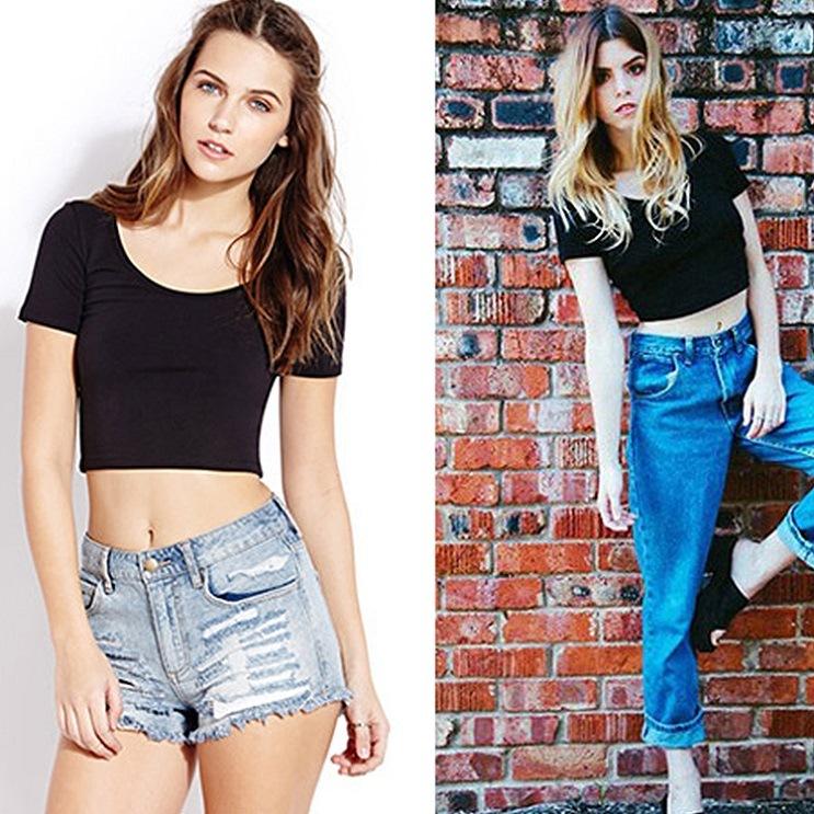 Cool Cute Ladies Short Sport T-Shirt