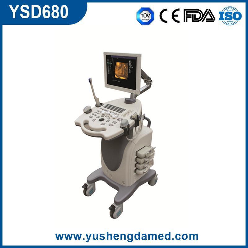 3D/4D Full Digital Medical Ultrasonic Trolley Color Doppler Ultrasound System