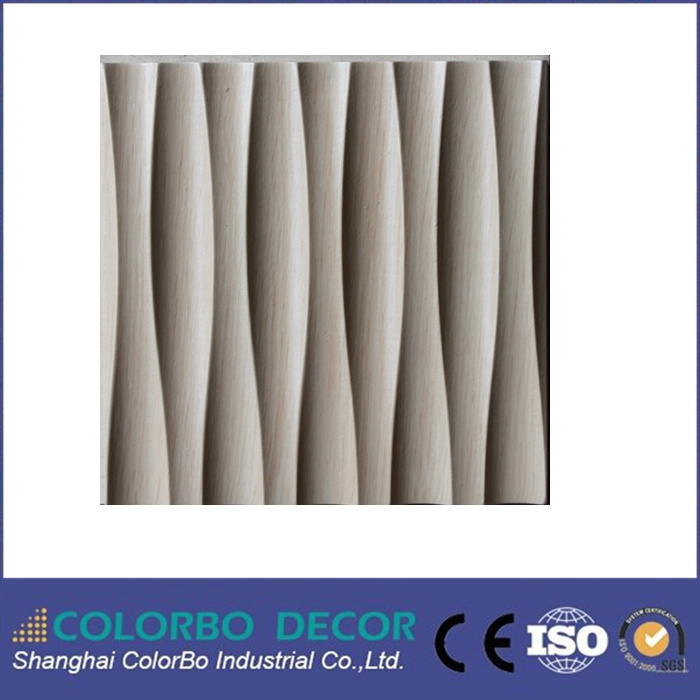 3D MDF Wave Board Panel for Ceiling and Wall Coating
