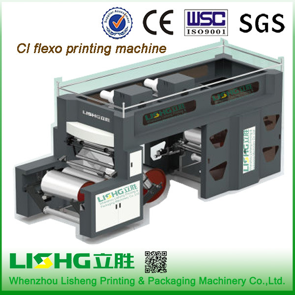 2016 Central Impression Flexo Printing Machine