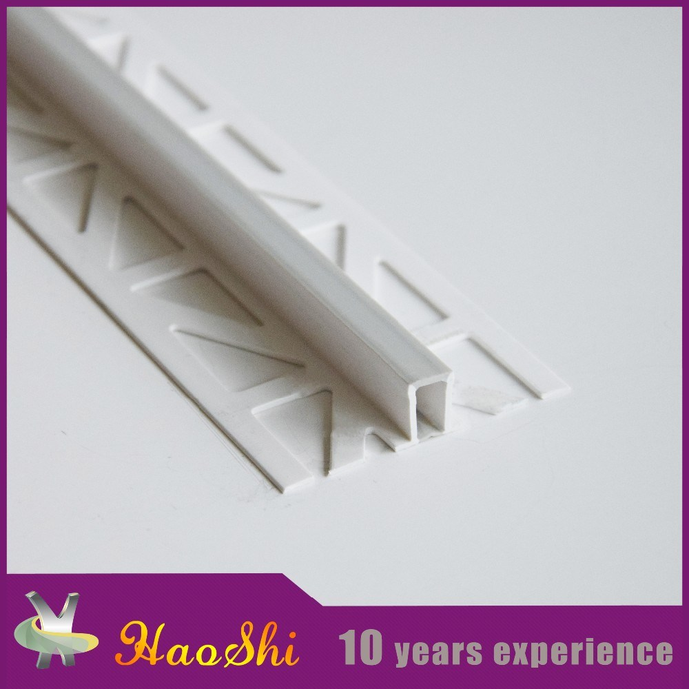 U Shape Tile Trim for Aluminum and PVC with Haoshi Brand