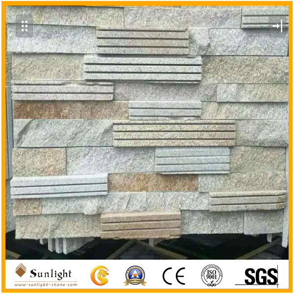 Natural Cheap Slate/Quartz Culture Stone for Wall Cladding