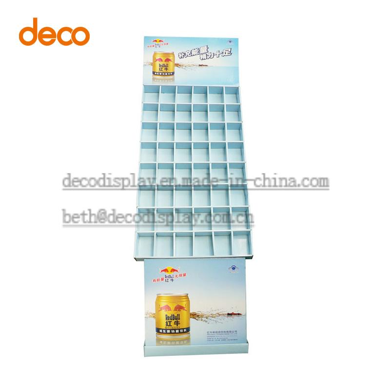 Cardboard Display Shelf Paper Display Stand for Surpermarket Promotion