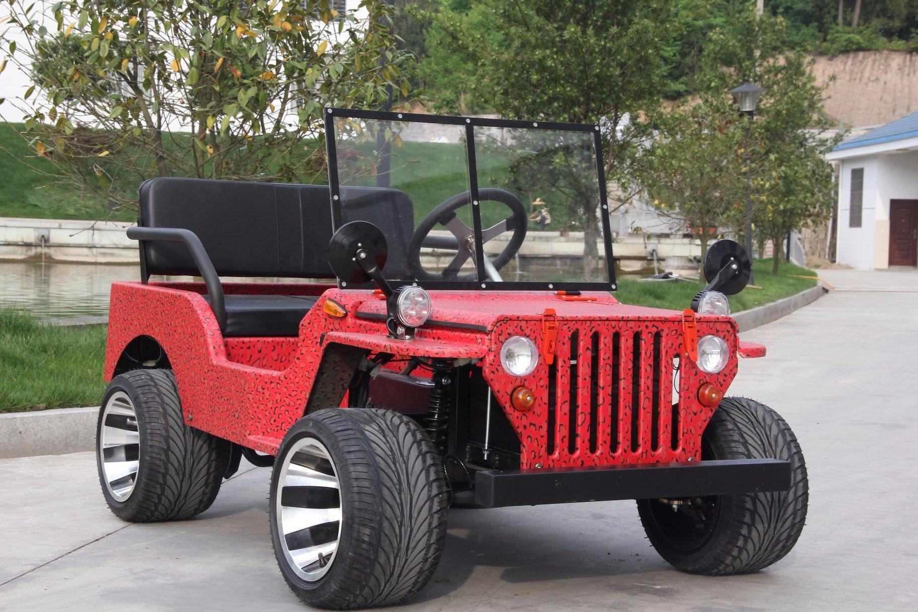 China Manufacture of 110cc 125cc 150cc Mini Jeep Willsy ATV
